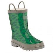 33, Green - Dark Green: Regatta Minnow Jnr Welly, Unisex Kids' High Rise Hiking Boots