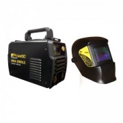 Pachet invertor MMA ProWeld MMA-200DLS + masca de sudare ProWeld LYG-3200A