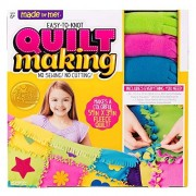 Made By Me Easy To Knot Quilt Making Kit