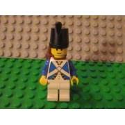 Lego Pirate Adventures Imperial Soldier Minifigure Blue Coat