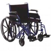 sedia a rotelle / carrozzina pieghevole ad autospinta xxl - bariatrica