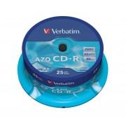 Verbatim CD-R 700Mb/80minutes Pack of 25 43352
