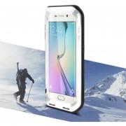 EH Funda De Teléfono Para Samsung Galaxy S6 Borde Impermeable A Prueba De Agua Cubierta Protectora - Blanco