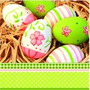 Lunchservet Painted Eggs
