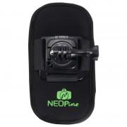 Neopine à la mode 360 ° Rotation Matériel de plongée Ceinture à camouflage / harnais à épaule pour GoPro HERO4 / 3 + / 3/2/1, Xiaomi Yi, SJCAM SJ6000 / SJ5000 / SJ5000 WIFI / SJ4000 Sport Camera (Noir)