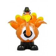 Thanksgiving Solar Powered Dancing Moving Turkey with Pilgrim Hat - Harvest Decor Autumn Fall Decoration Figurine