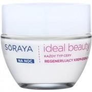 Soraya Ideal Beauty creme de noite regenerador para todos os tipos de pele 50 ml