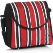 Home Heart Red, Black, White Sling Bag