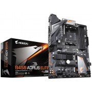 Gigabyte B450 Aorus Elite placa base Socket AM4 AMD B450 ATX