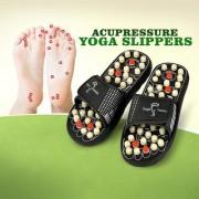 ACCU PADUKA/SLIPPER SPRING SLIPPER ACUPRESSURE MAGNETIC FULL BODY MASSAGE Foot Care Yoga Paduka Massager