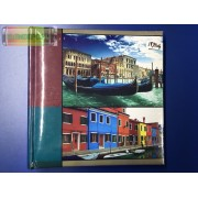 """Fotóalbum """" Italy """" 10 x 15cm 200 kép bedugós, memós-könyvkötött"""