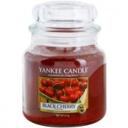 Yankee Candle Black Cherry scented candle Classic Medium 411 g