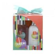 Style & grace bubble boutique mini pamper kit confezione regalo 100 ml bagnoschiuma + 100 ml lozione corpo + esfoliante da doccia