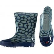 Merkloos Rubberen laarzen met reptiel print voor peuters
