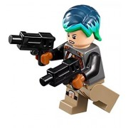 LEGO Star Wars Rebels Minifigure - Sabine Wren with Bright Hair Dual Blasters (75150)