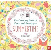The Coloring Book of Cards and Envelopes: Summertime, Paperback/Nosy Crow