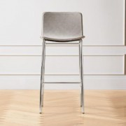 "Strut Bar Stool 30"""" Grey by CB2"