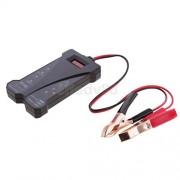 ELECTROPRIME® Portable Car LED Digital Battery Tester Voltmeter & Charging System Analyzer
