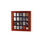 Porta zippo scatola porta 20 accendini Radica