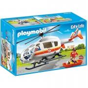 Playmobil City Life: Helicóptero médico de emergencia (6686)