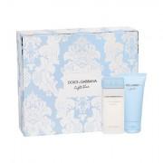 Dolce&Gabbana Light Blue sada toaletní voda 25 ml+ tělový krém 50 ml pro ženy