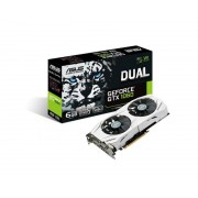 ASUSTEK ASUS DUAL-GTX1060-6G GeForce GTX 1060 6 GB GDDR5