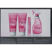 Moschino Pink Fresh Couture 100ML+10 ML + 100 ml latte corpo + 100 ml gel doccia