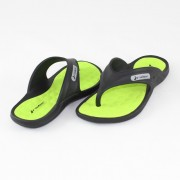 Papuci - negru, verde, Rider - 80635-Black-Green