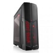 ATX, Modecom Advanced Gaming MAG C5, 1x USB3.0, с прозорец, черна, без захранване