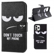Style Series iPhone 11 Pro Max Wallet Case - Don't Touch My Phone
