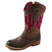 Zecchino d'Oro online laarzen S18-4835 Bruin ZEC30