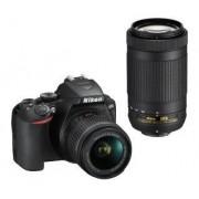 Nikon D3500 + AF-P DX 18–55 VR + AF-P DX 70–300 VR - 139,95 zł miesięcznie