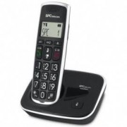 SPC TELECOM Teléfono Inalámbrico SPC Comfort Kaisser Negro