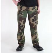 MIL-TEC férfi nadrág - US Ranger Hose - Woodland - 11810020
