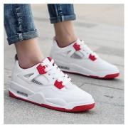 Zapatos Fashion-Cool Para Hombre-Rojo Y Blanco