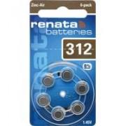 Baterija za sluŠni aparat Renata ZA 312