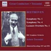 Ludwig van - Symphonies Nos. 1 & 4 /.. (0636943185421) (1 CD)