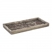 PTMD Sevilla Schaal 28,5 cm Paars Cement