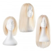 Rapunzel® Parrucche Parrucca Lace Capelli naturali 10.8 Light Blonde 30 cm