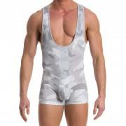 Modus Vivendi Desert Singlet Bodysuit Grey 11781