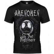 t-shirt hardcore uomo - I´M NOT NIGHTMARE - AMENOMEN - OMEN073KM