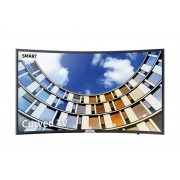 "Samsung Tv 55"" Samsung Ue55m6300 Led Serie 6 Full Hd Curvo Smart Wifi 900 Pqi Hdmi Usb Refurbished Senza Base Con Staffa A Muro"