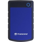 HDD eksterni Transcend StoreJet 25H3, 1TB, USB3.0, Rubber casing, Military-grade shock resistance, Quick Reconnect Button, Blue, TS1TSJ25H3B
