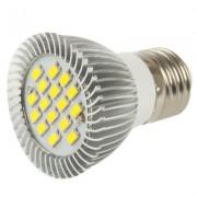 Lampadina e LED Super Luminosa attacco E27 15xSMD5630 6.4W 220V