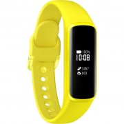 Bratara fitness Samsung Galaxy Fit e, R375, Silicon, Yellow