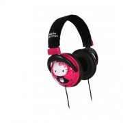 Casque audio HELLO KITTY 35009 Noir et Rose