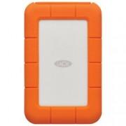 """HDD External 2.5"""" Rugged Thunderbolt USB 3.1/C 2TB Silver/Orange"""