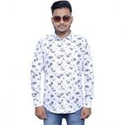 Tooley Men's Cotton Formal shirts/ party wear shirts /Full sleeve shirts/ Printed shirts Regular Fit Formal Shirt for Men