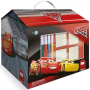 Set creativ de stampile in cutie Cars 3
