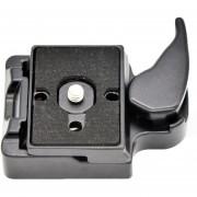 Del Sistema RC2 Para La Placa Manfrotto Trípode 200PL-14 QR (negro)